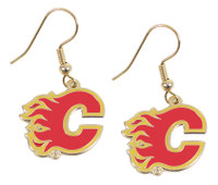 Calgary Flames Earrings