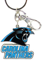 Carolina Panthers Brass Key Chain