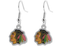 Chicago Blackhawks Earrings
