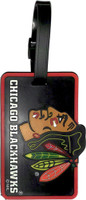 Chicago Blackhawks Luggage Bag Tag