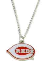 Cincinnati Reds Logo Necklace