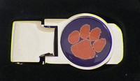 Clemson Money Clip