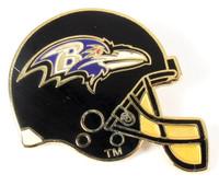 Baltimore Ravens Helmet Pin