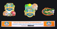 2009 BCS Championship Commemorative Pin Set - Florida