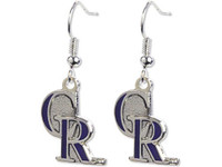 Colorado Rockies Logo Earrings