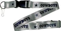 Dallas Cowboys Lanyard - Silver
