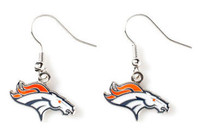 Denver Broncos Logo Earrings