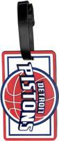 Detriot Pistons Luggage Tag