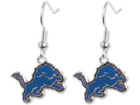 Detroit Lions Logo Earrings