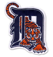 Detroit Tigers Embroidered Emblem Patch