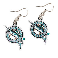 Florida Marlins Earrings