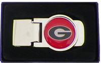 Georgia Bulldogs Money Clip