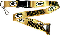 Green Bay Packers Lanyard - Gold