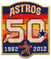 Houston Astros 50th Anniversary Patch