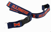 Illinois Lanyard