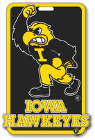 Iowa Hawkeyes Luggage / Bag Tag