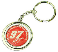Kurt Busch #97 Spinner Key Chain