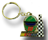 LaBonte #18 Helmet Key Chain