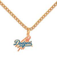 Los Angeles Dodgers Logo Necklace