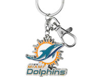 Miami Dolphins Key Chain
