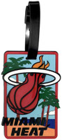 Miami Heat Luggage Bag Tag