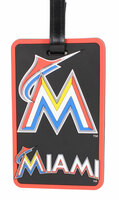 Miami Marlins Luggage Bag Tag
