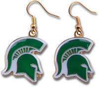 Michigan State Earrings