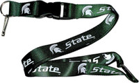 Michigan State Lanyard