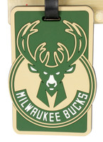 Milwaukee Bucks Luggage Bag Tag