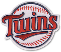Minnesota Twins Embroidered Emblem Patch – 4""