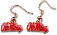 Mississippi Ole Miss Earrings