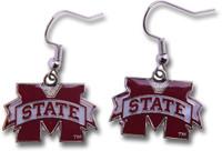 Mississippi State Logo Earrings