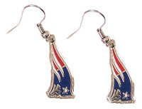 New England Patriots Logo Earrings