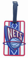 New Jersey Nets Luggage Bag Tag