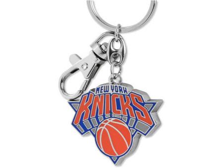 New York Knicks Brass Key Chain