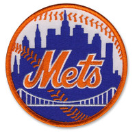 New York Mets Embroidered Emblem Patch – 4""