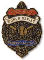 New York Yankeess 1927 World Series Champs Embroidered Patch – 4""