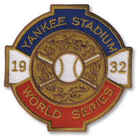 New York Yankeess 1932 World Series Champs Embroidered Patch