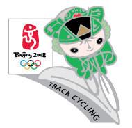 Beijing 2008 Olympics Nini Track Cycling Pin