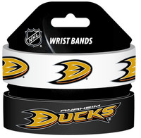 "NHL Silicone Wrist Band - 1"" Wide ( 2 Pack )"
