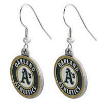 Oakland A's Earrings