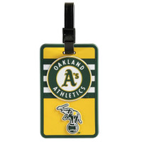 Oakland A's Luggage Tag