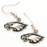 Philadelphia Eagles Logo Earrings