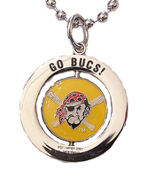 Pittsburgh Pirates #1 Fan Spinner Necklace
