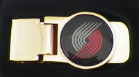 Portland Trail Blazers Brass Money Clip