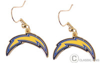 San Diego Chargers Logo Earrings