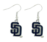 San Diego Padres Dangle Earrings