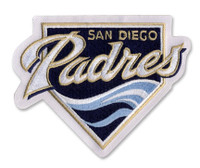 San Diego Padres Embroidered Emblem Patch – 4""