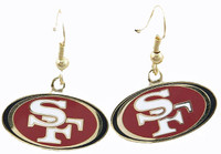San Francisco 49ers Logo Earrings