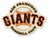San Francisco Giants Embroidered Emblem Patch – 4""